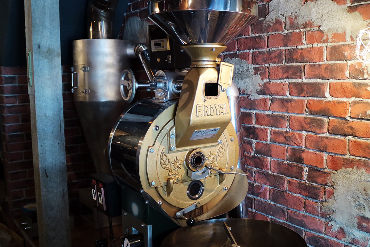 GP coffee roaster
